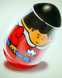 Weebles wobble but they don't fall down!