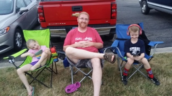 Waiting for Independence Day fireworks